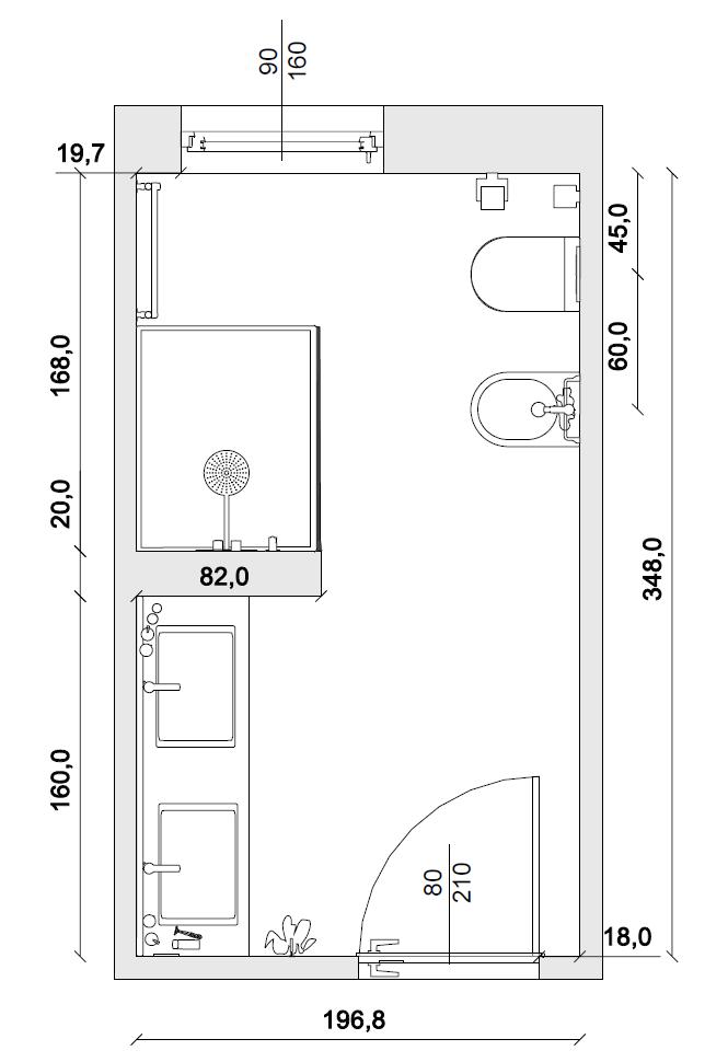 Passo 1 il disegno della pianta domus3d supporto online - Disegno pianta casa ...