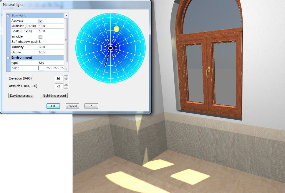 Advanced effects in Navigation window – DomuS3D Online Support